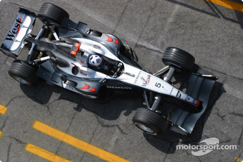 A lap of Monaco with Coulthard