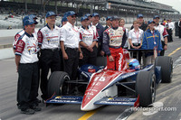 IRL: Rahal-Letterman team wins Indy Pit Stop Challenge