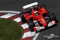 US GP first practice in the books, Ferrari ahead