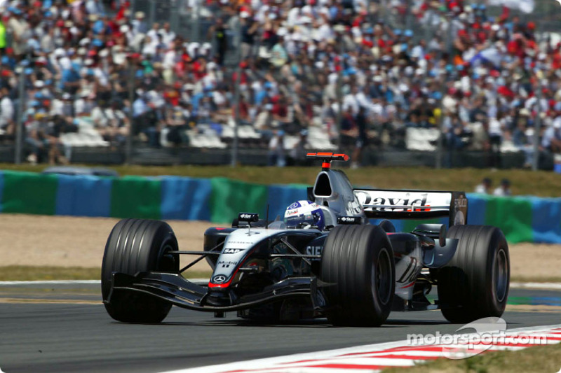 A lap of Silverstone with Coulthard
