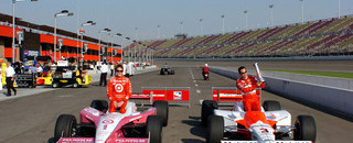 IndyCar IRL: Castroneves, Dixon give Toyota a big lift in qualifying