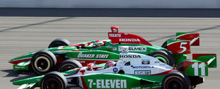 IndyCar IRL: Fernandez gets Fontana win, Kanaan is champion