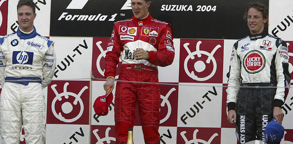 Michael happy to share podium with Ralf