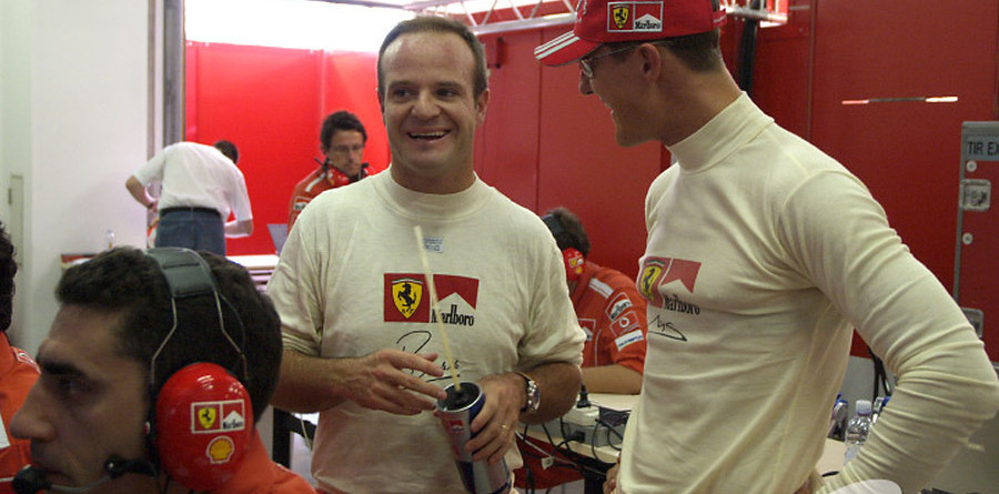 Schumacher aims to keep Ferrari in front