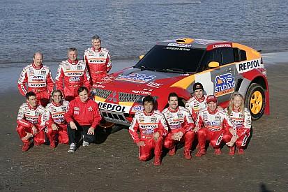 Mitsubishi aims for Dakar title