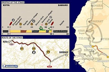 Dakar: Stage 12 Kiffa to Bamako notes