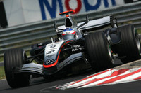 McLaren set the pace in last Hungarian GP practice
