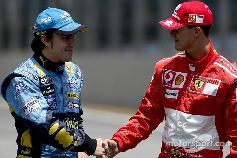 Brown compara la dedicación de Alonso con la de Schumacher