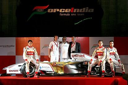 GALERÍA: hace 10 años se presentaba el Sahara Force India VJM01