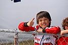 Kart Montoya'nın oğlu Ferrari Sürücü Akademisi'ne katıldı