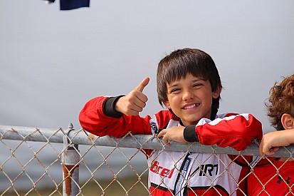 Montoya 12 éves fia is a Ferrari tehetségei között