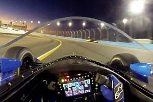 VIDEO: el Aeroscreen de IndyCar en pruebas de noche