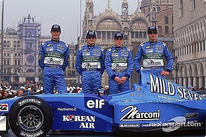 El B201, último Benetton de la historia de la F1