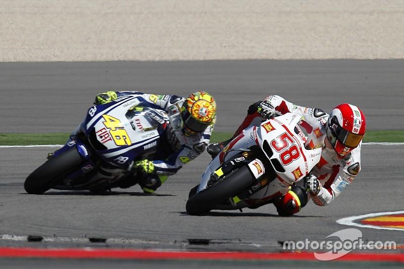 """Rossi: """"La muerte de Simoncelli fue devastadora, continué por amor"""""""