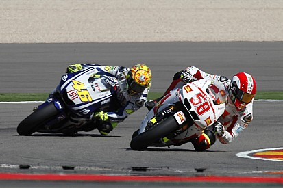 "Rossi: ""La muerte de Simoncelli fue devastadora"""