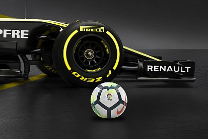 Renault tendrá a la liga española de fútbol como patrocinador