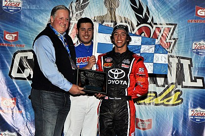 Tanner Thorson stepping up to the NASCAR ranks