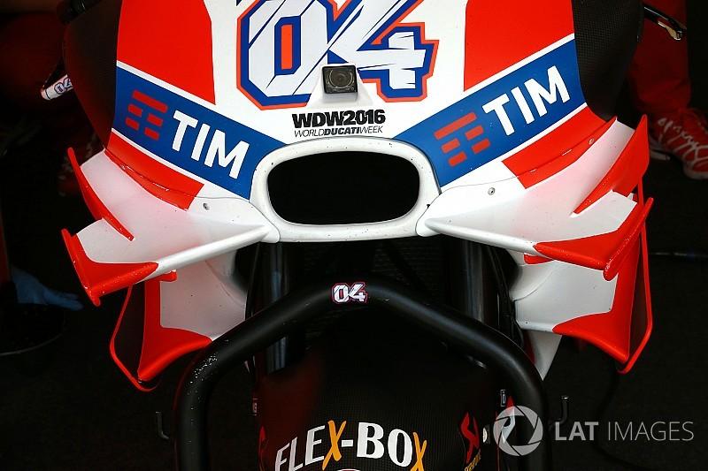 Galería: la evolución de la aerodinámica en MotoGP