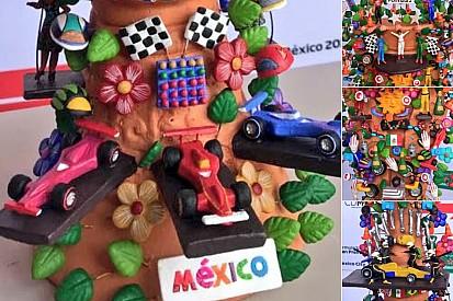 Presentan trofeo promocional del Gran Premio de México 2018