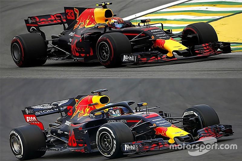 GALERÍA: cómo han cambiado los monoplazas de F1 en comparación con los de 2017