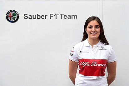 Tatiana Calderón regresa a Sauber