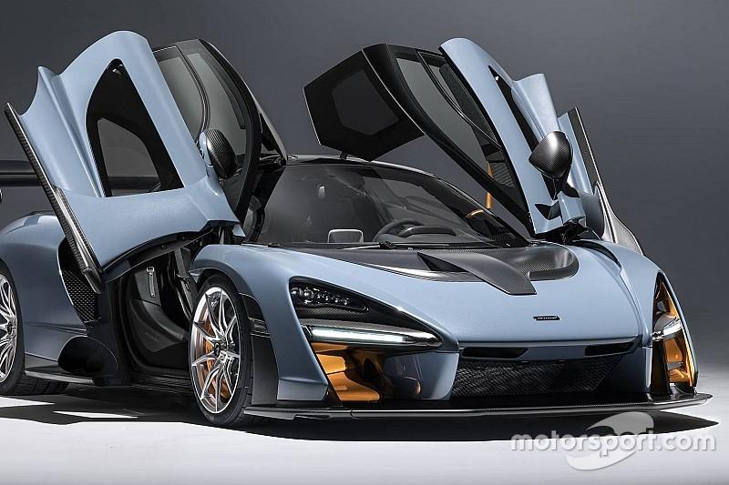 В рекламу гиперкара McLaren включили кадры с Айртоном Сенной