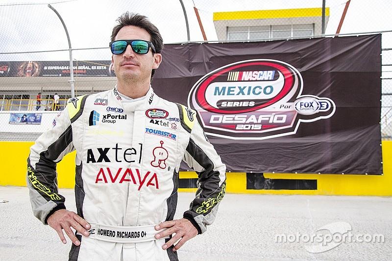 Homero Richards gana fecha inaugural de NASCAR PEAK México Series