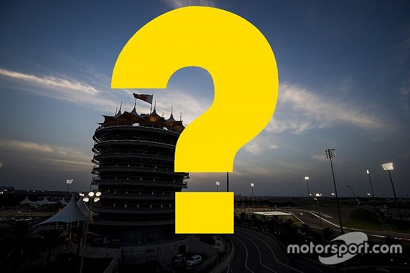 Всего год назад. Вспомните ли вы прошлый Гран При Бахрейна?