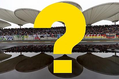 Всего год назад. Вспомните ли вы прошлый Гран При Китая?