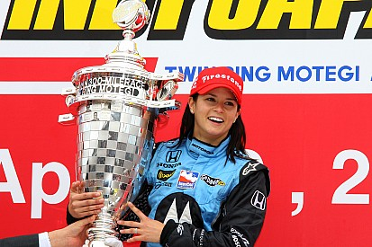Vidéo - La victoire de Danica Patrick à Motegi en 2008