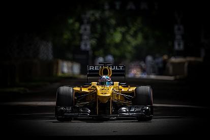 Renault en démo F1 dans 8 villes du sud de la France