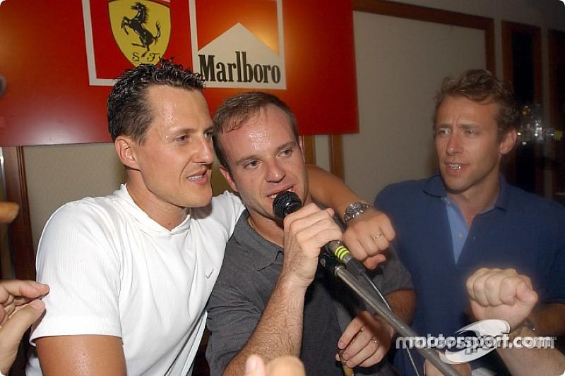 """Luca Badoer: """"Besuche Michael Schumacher regelmäßig"""""""