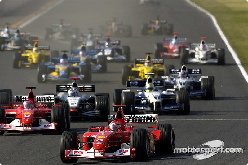 Barrichello legendás előzése a Schumacher-testvérek ellen