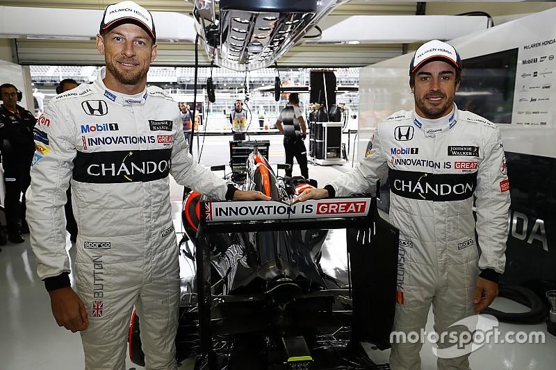 Button: Hangi seride olursa olsun, Alonso ile yarışmak endişe vericidir