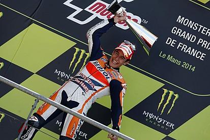 Márquez après son premier podium en France depuis 2014