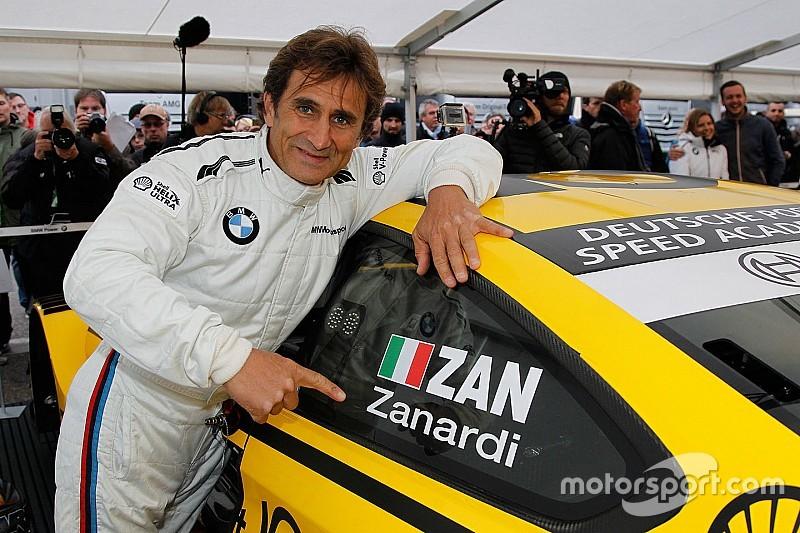 Alex Zanardi als BMW-Gaststarter bei der DTM in Misano!