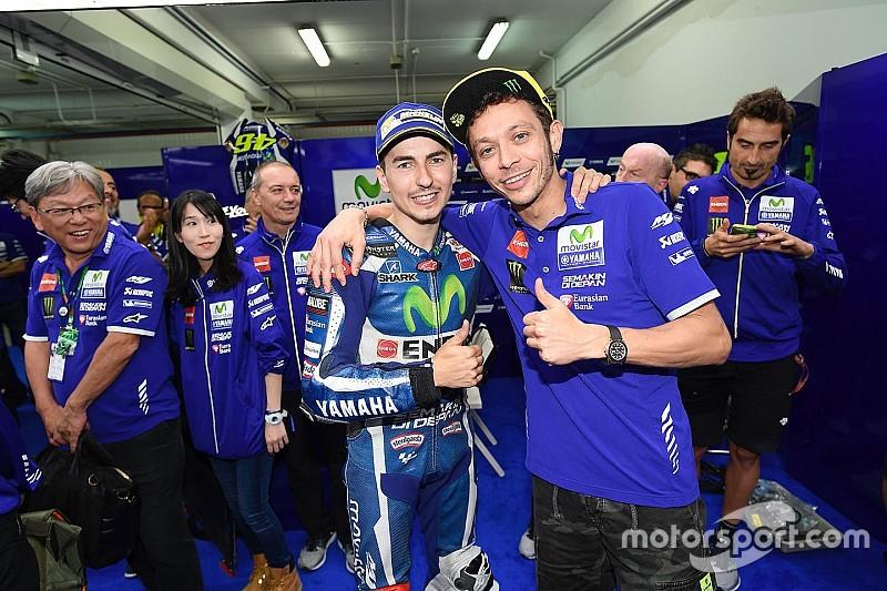 Rossi en Viñales enthousiast over mogelijke Yamaha-rentree Lorenzo