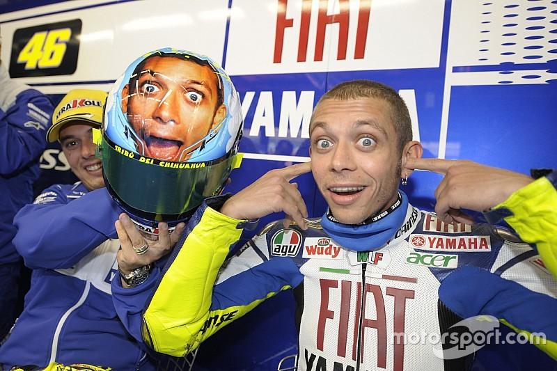 Diaporama - Les casques de Valentino Rossi au Mugello