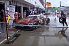 DTM Видео: аварии на пит-лейне, после которых остановили гонку DTM