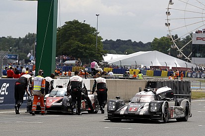 Thrillers in Le Mans 3/5: Toyota sneuvelt met finish in zicht
