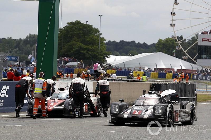 Thrillers in Le Mans 3/5: Toyota sneuvelt met finish in zicht