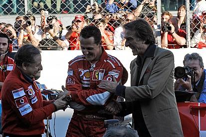 """Montezemolo : Marchionne est """"jaloux"""" de la gloire passée de Ferrari"""