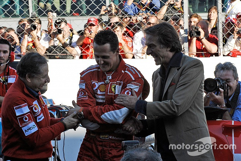 Montezemolo: Marchionne tem inveja de glórias da Ferrari