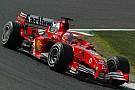 Last race with Ferrari for Barrichello