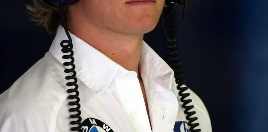 Williams confirms Rosberg as race driver for 2006