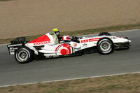 Barrichello takes over at Jerez test