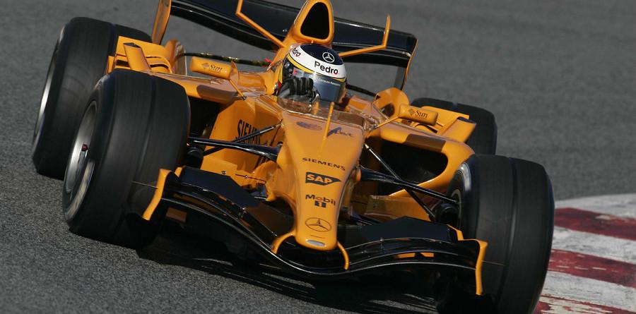 New McLaren MP4-21 debuts at Barcelona