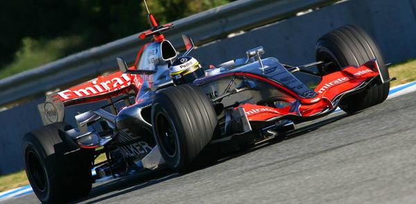 De la Rosa fastest as Jerez test continues