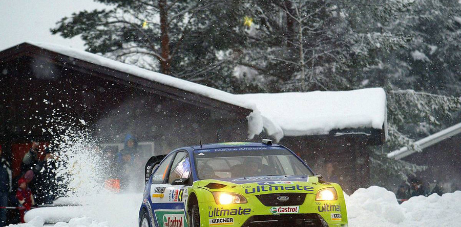 Hirvonen headed for Rally Norway victory