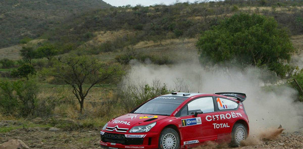 Loeb catches Rally Mexico lead as Subaru stumbles